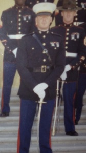 Carlos in Dress Blues