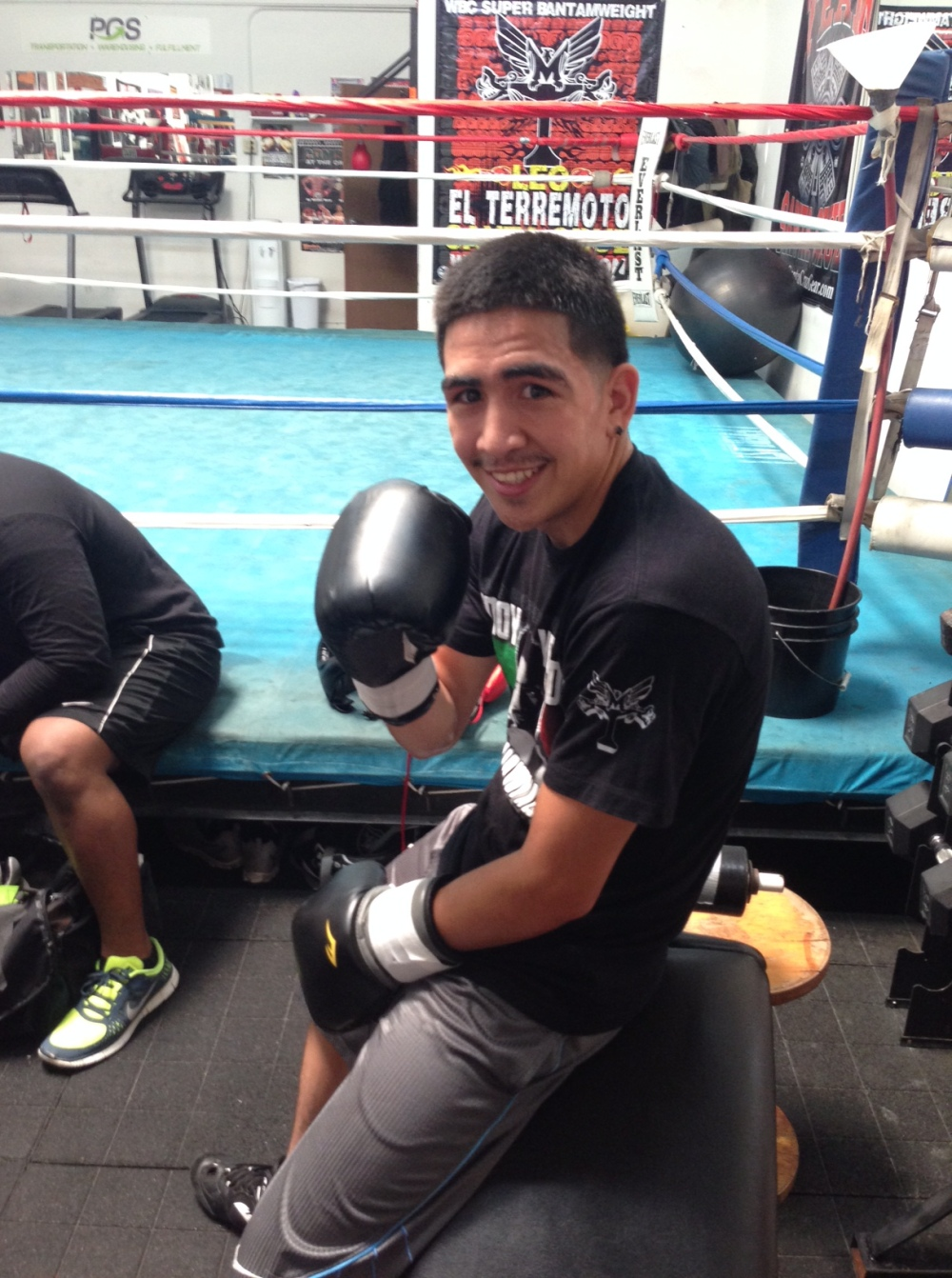 Leo Santa Cruz, photograph courtesy of MTBoxing