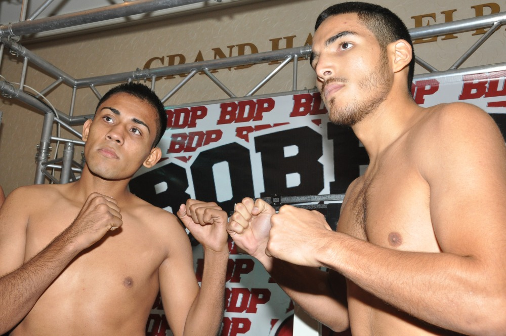 Mexican fighters Miguel Sanchez squaring off against hard-hitting Tijuana native Ivan Zavala