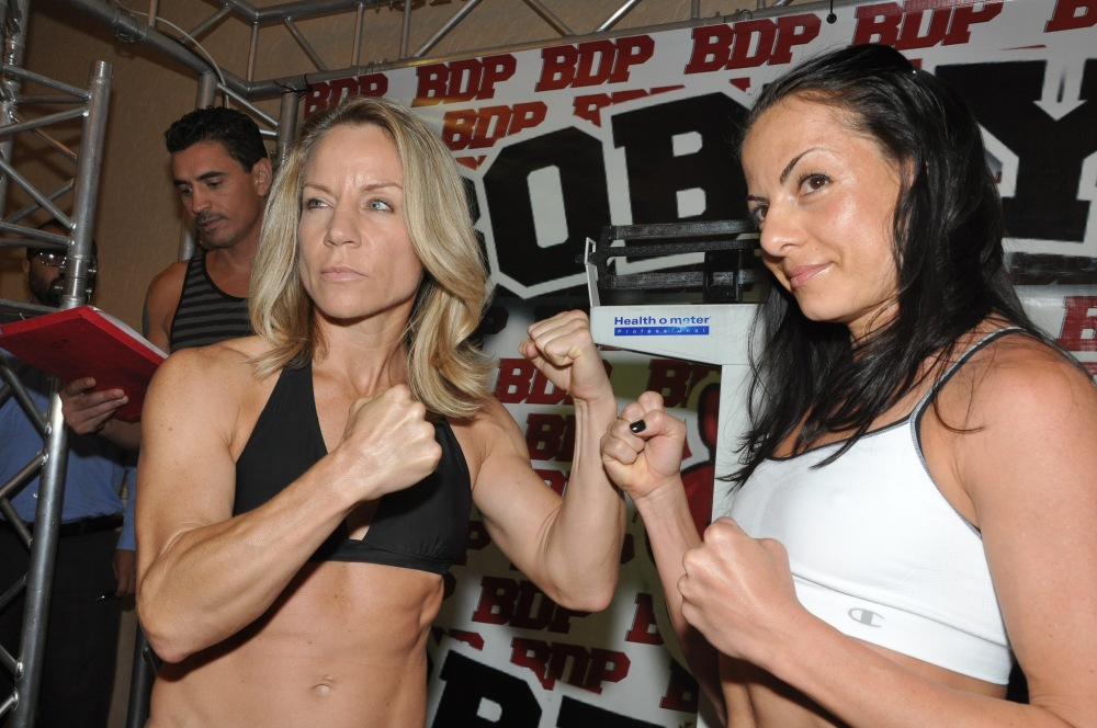 Headliner Jolene Blackshear facing off against Susan Reno