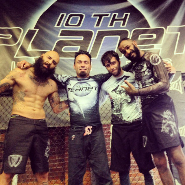 Boogeyman Richie Martinez (left), Eddie Bravo (center-left), Geovanny Martinez (center-right) and Walel Watson (right)