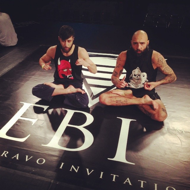 Brothers, B-boys and Training Partners Geovanny Martinez (left) and Boogeyman Richie Martinez (right)