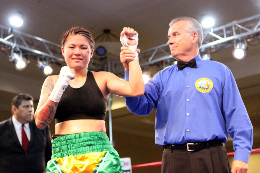 Winner Haley Pasion of Hawaii