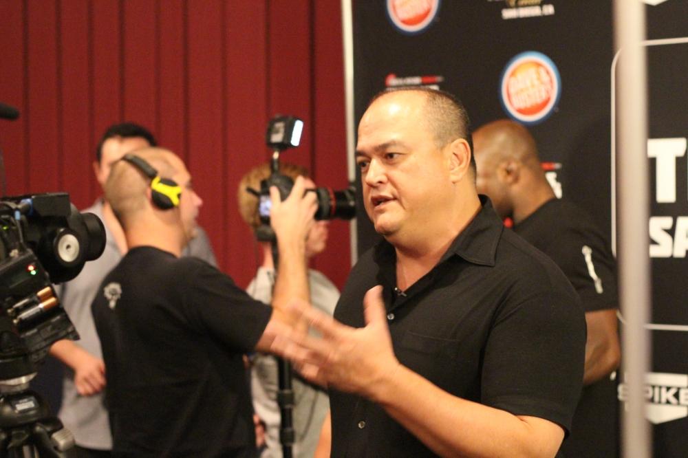 Bellator President Scott Coker at Bellator 131 Fan Fest